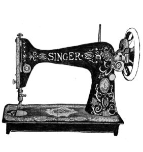 sewing machine logo